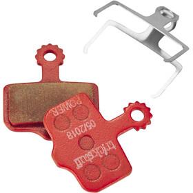 Trickstuff Power 830PO Pastillas Freno Cleg 2/Piccola, Avid/Sram Elixir/XX/X0, Magura MT, red